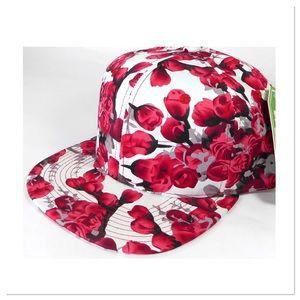 Floral Rosebud Cap